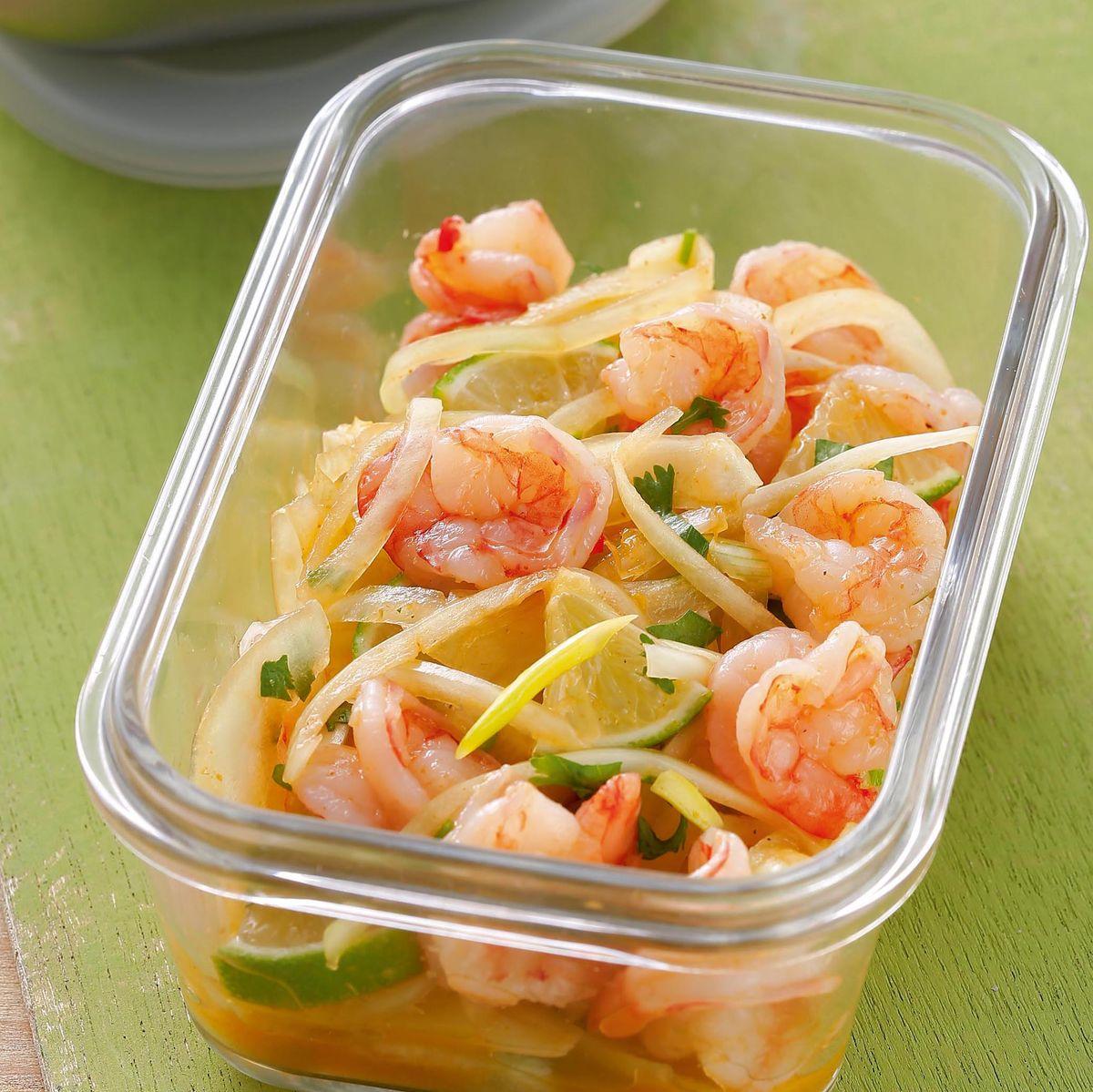 食譜:鮮蝦涼拌洋蔥