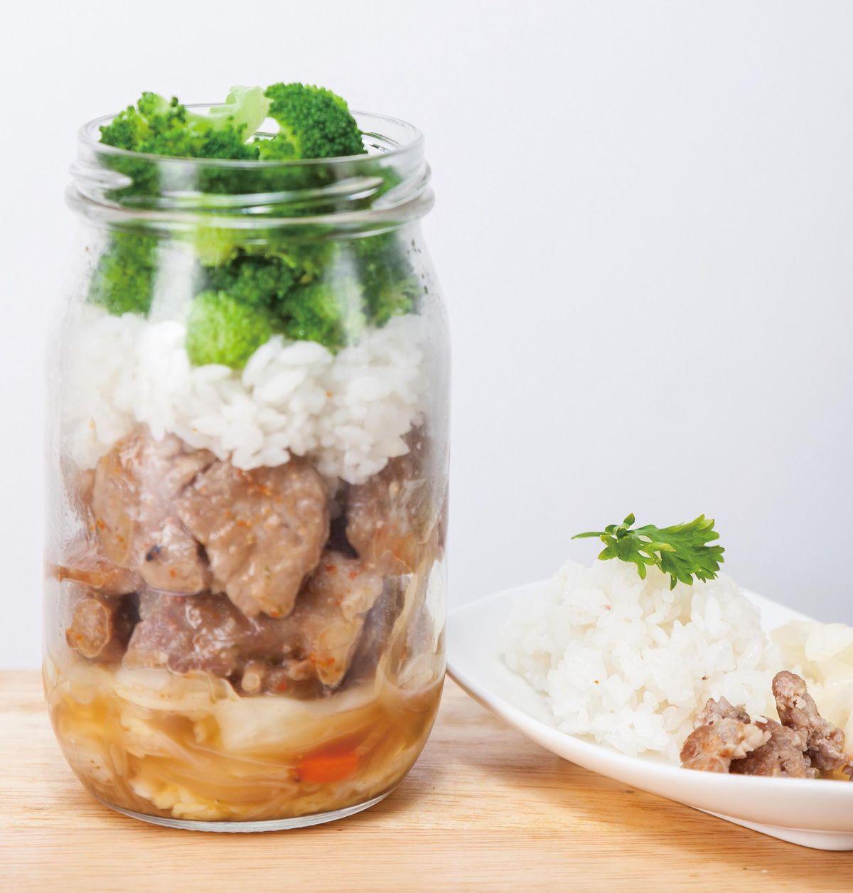 食譜:日式燒肉罐便當