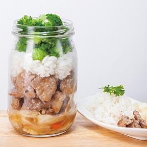 日式燒肉罐便當