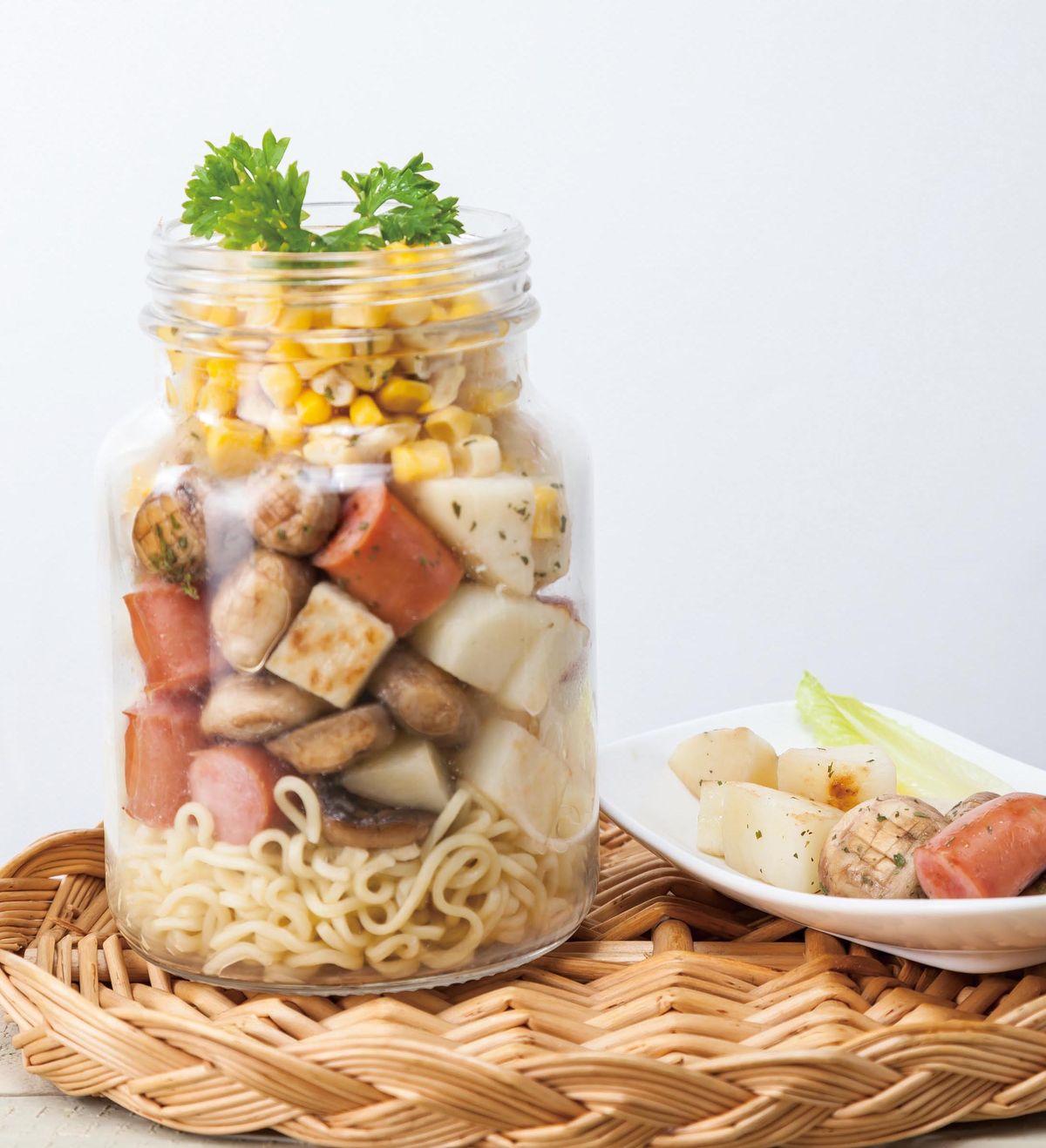 食譜:印尼炒麵罐便當