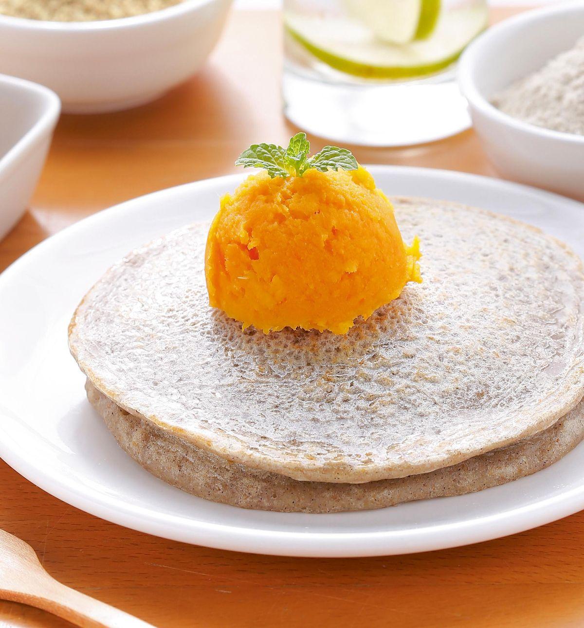 食譜:五穀粉煎餅