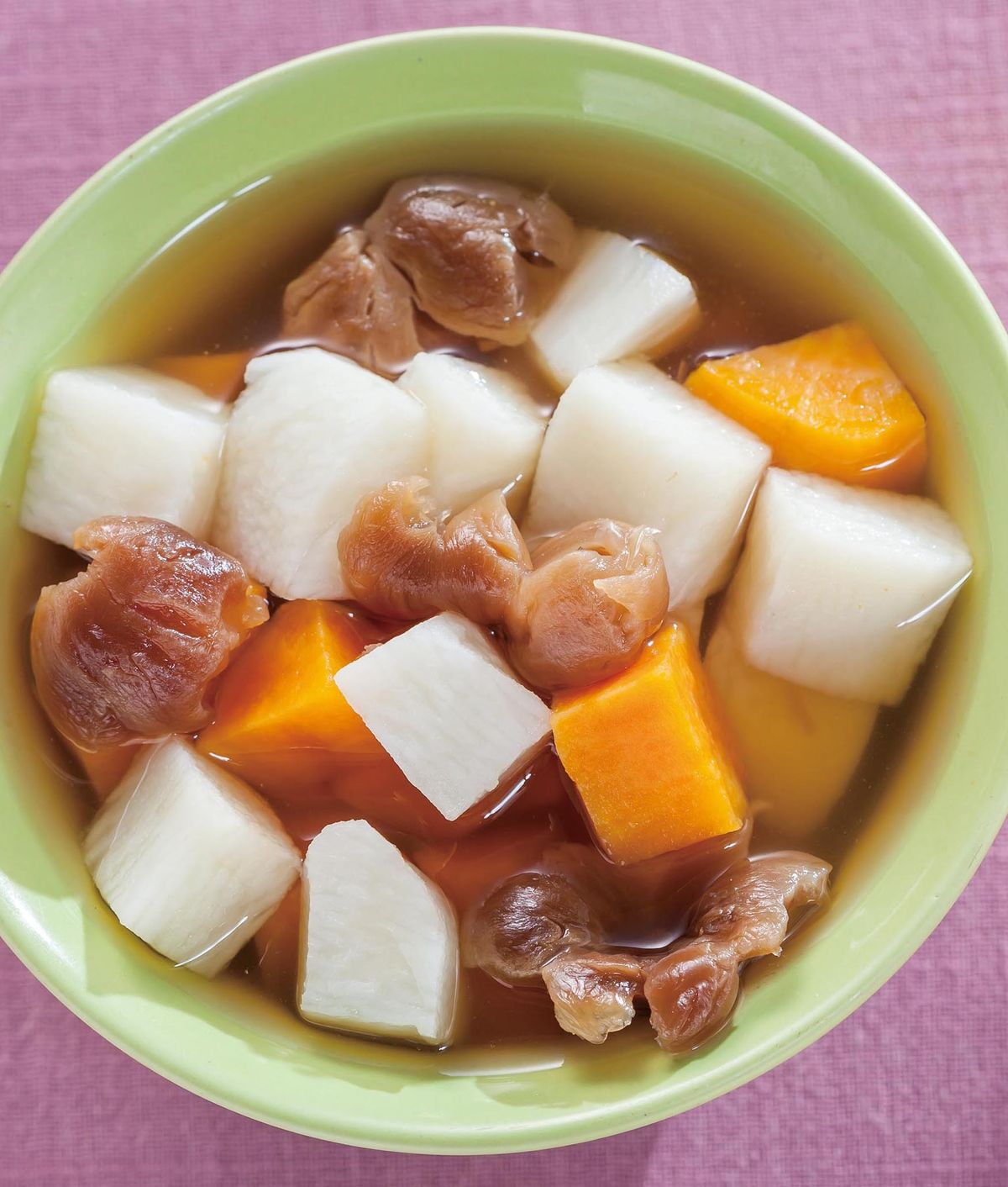 食譜:桂圓山藥地瓜湯