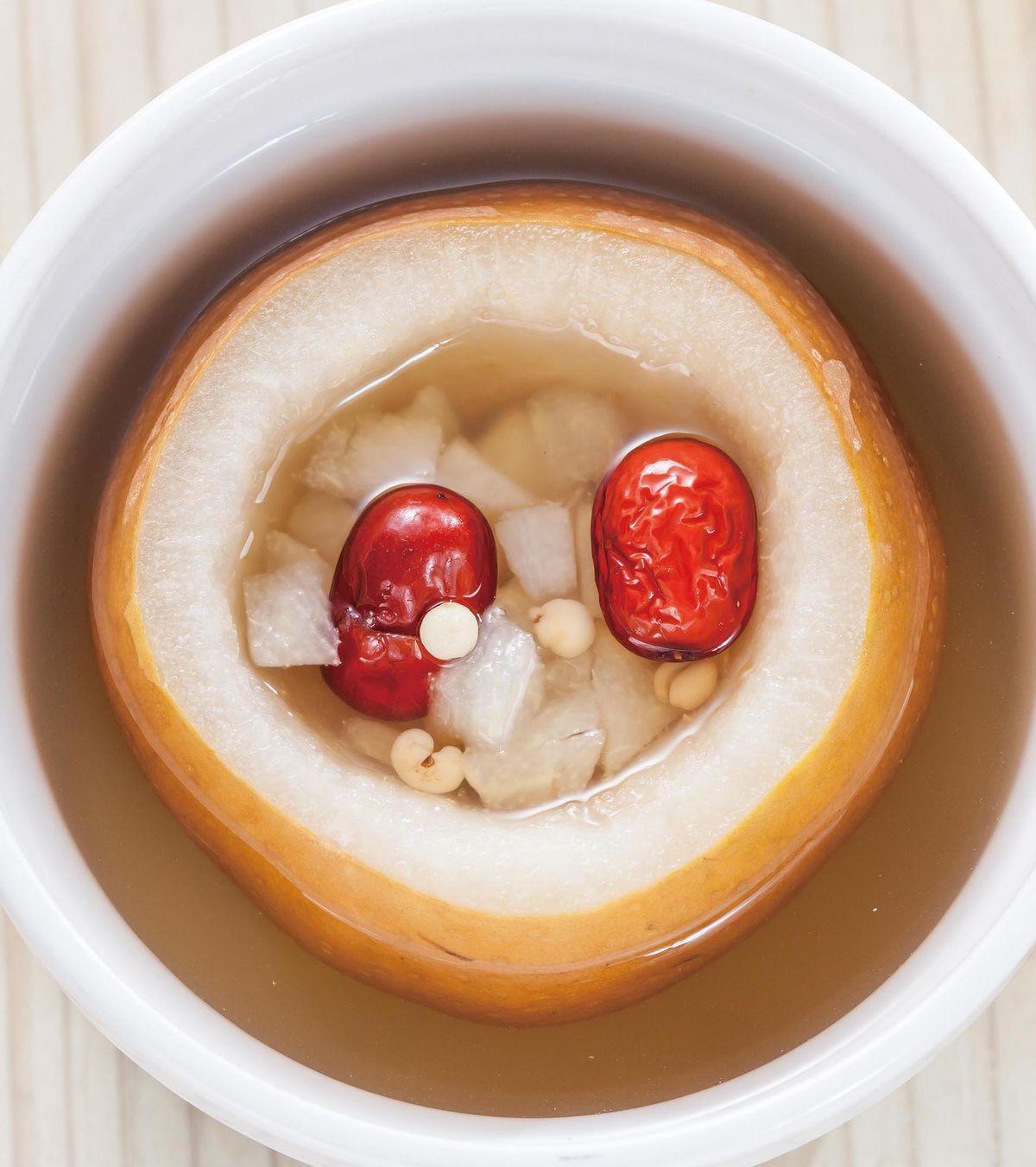 食譜:冰糖貝母雪梨甜湯