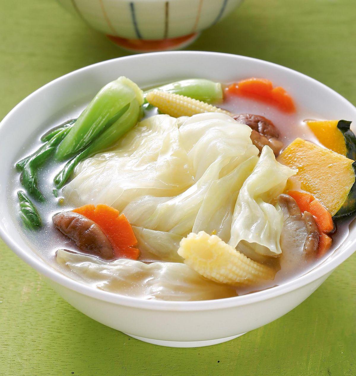 食譜:滷汁蔬菜湯
