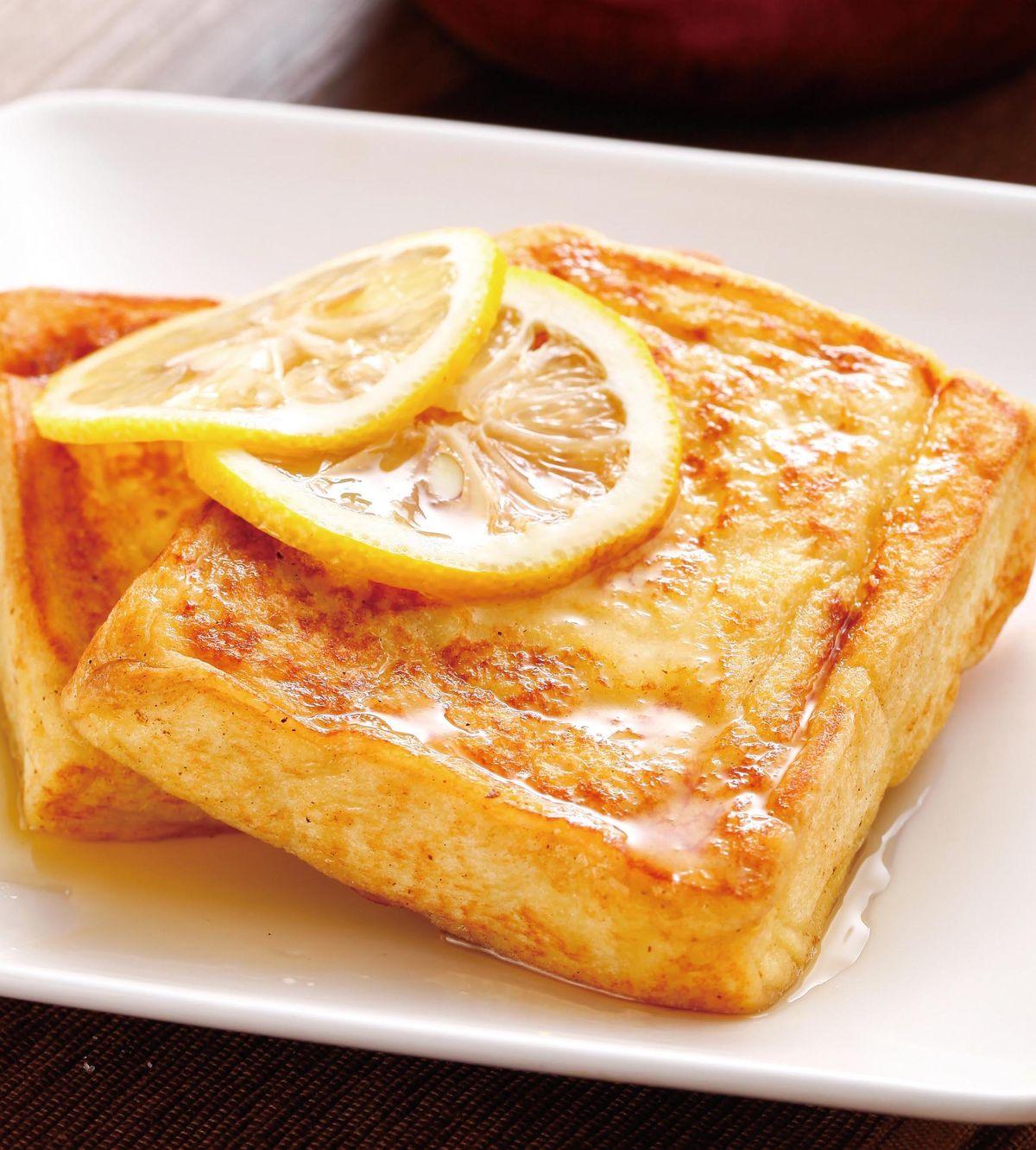 食譜:蜂蜜檸檬法式土司