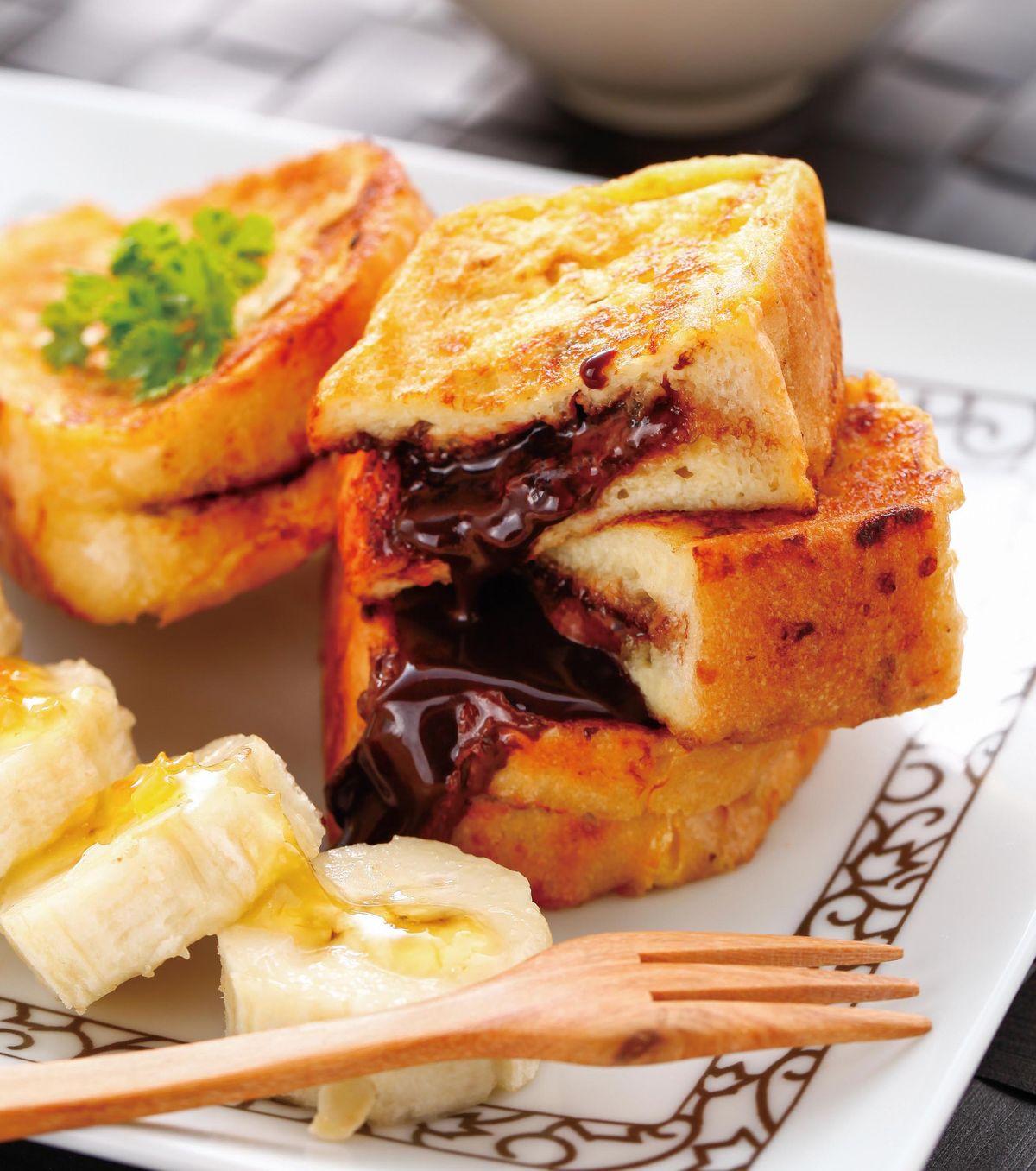 食譜:柚香巧克力法式麵包