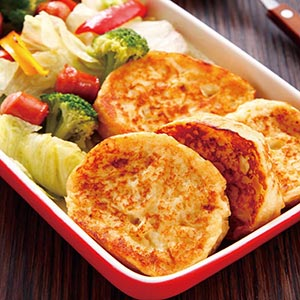 法式麵包香腸沙拉