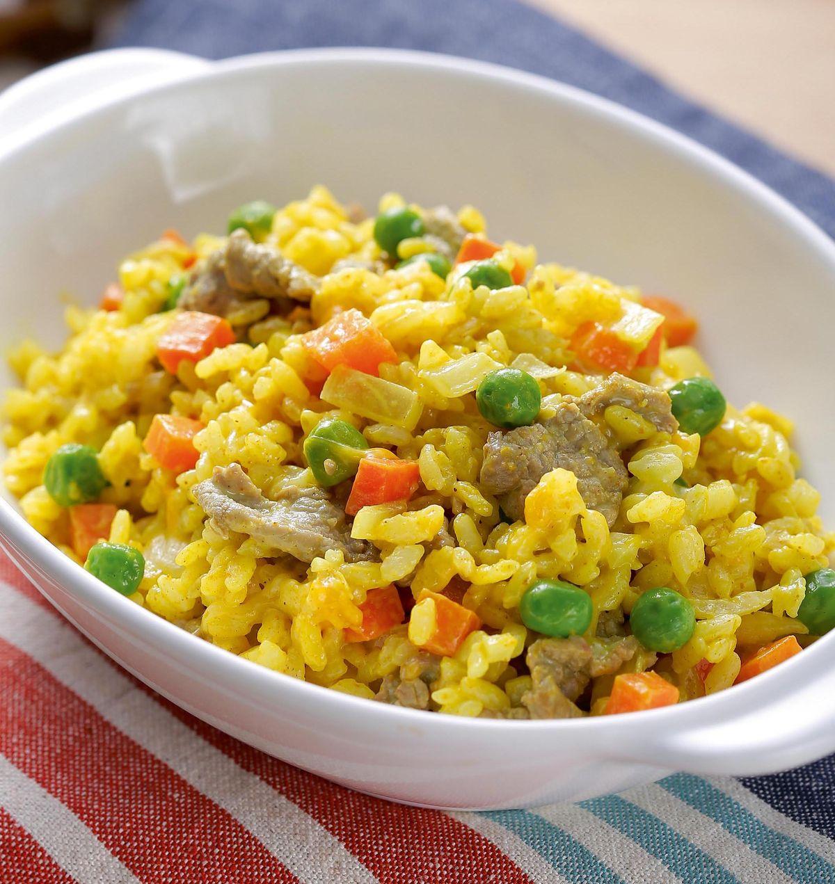 食譜:咖哩牛肉燉飯