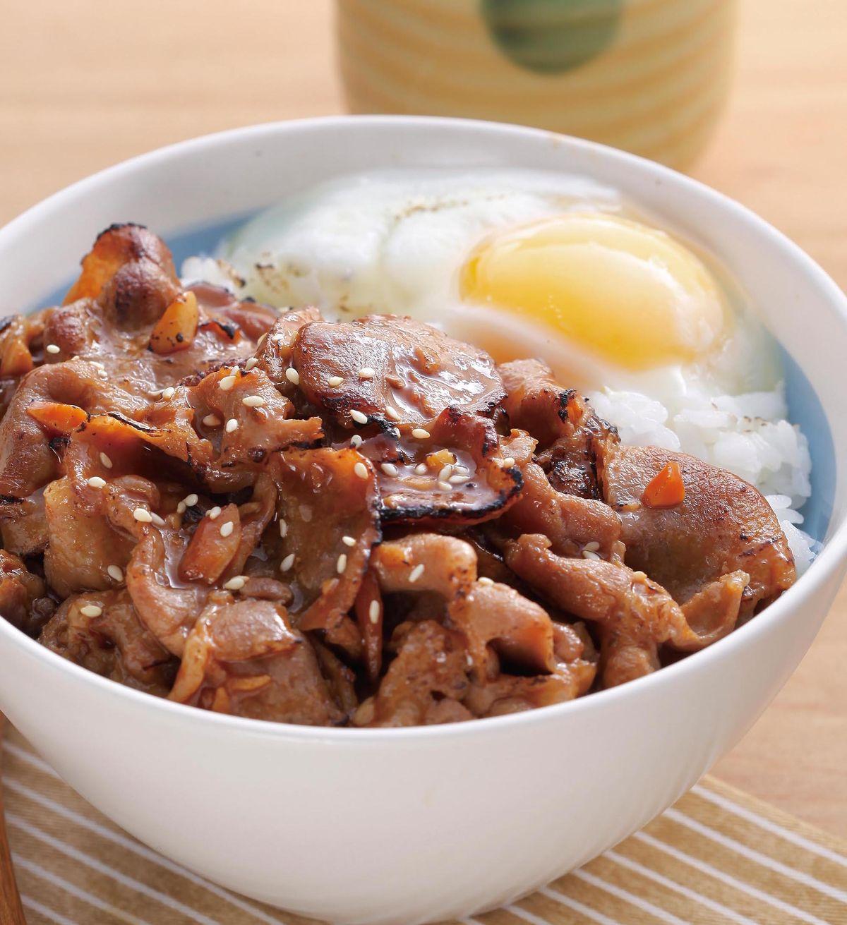食譜:台味燒肉蓋飯