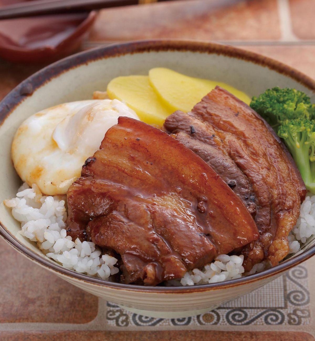 食譜:五香控肉丼飯