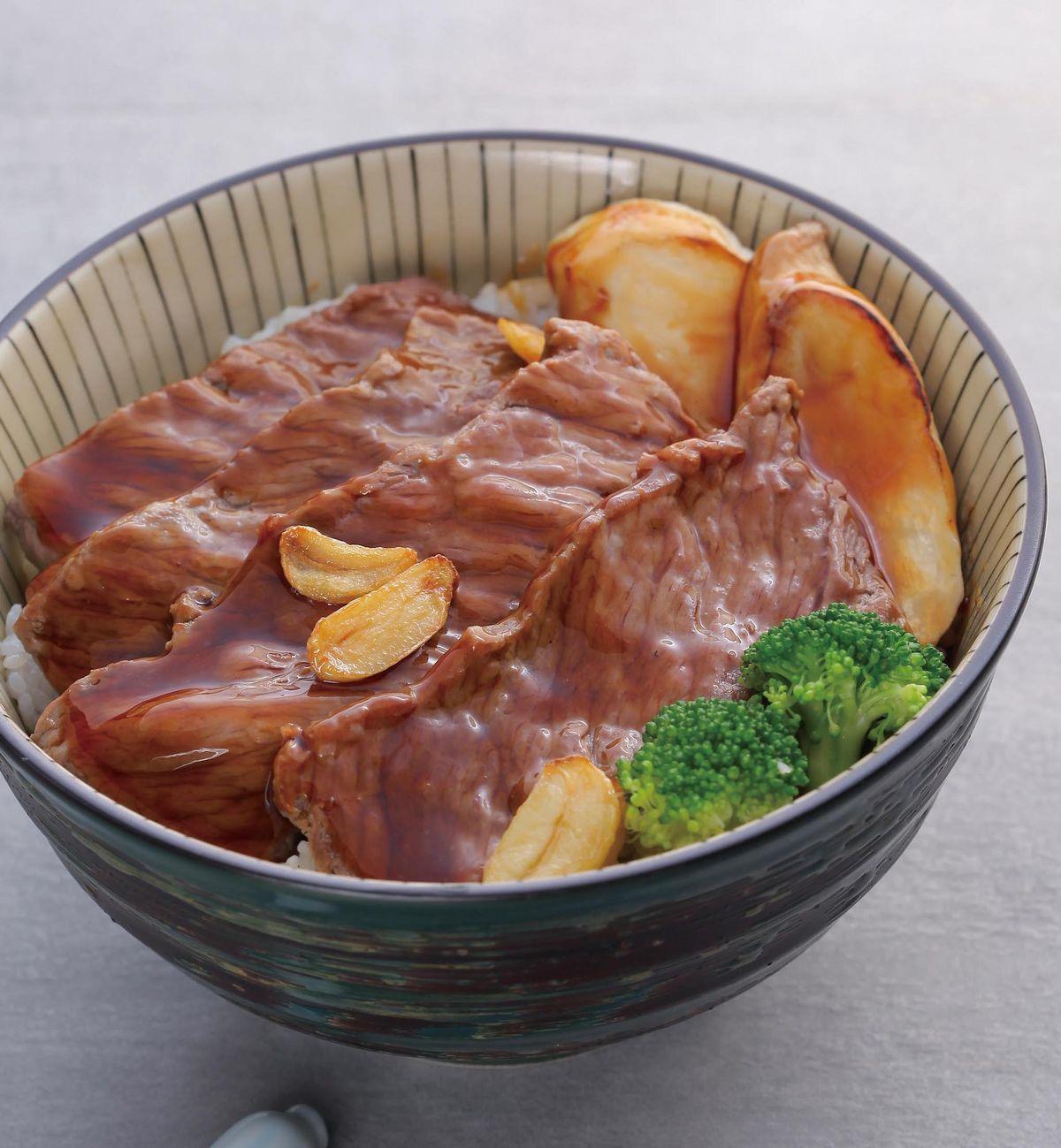 食譜:和風牛小排丼