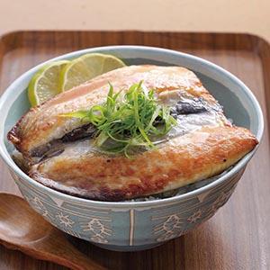 香煎虱目魚蓋飯