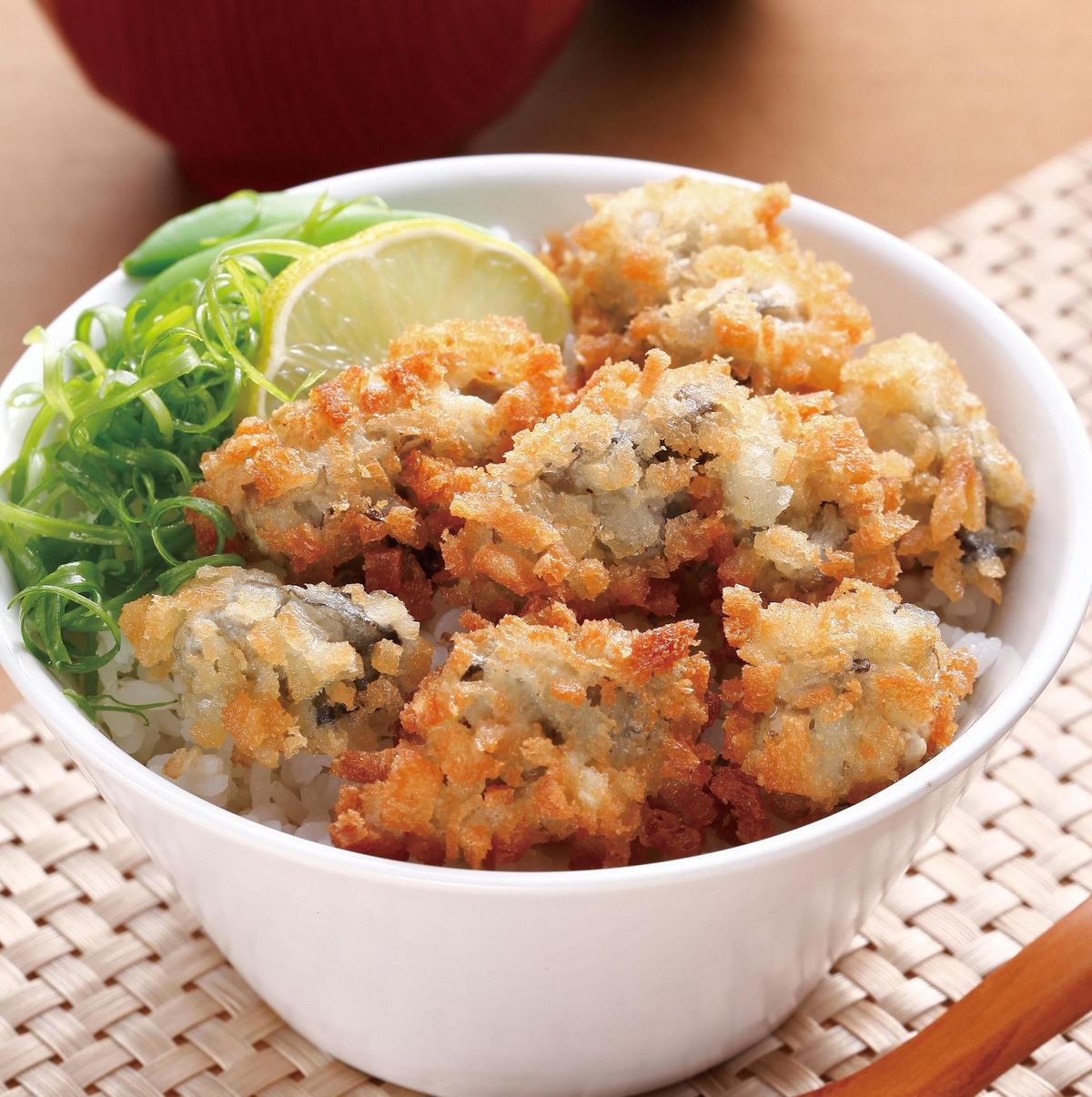 食譜:酥炸鮮蚵蓋飯