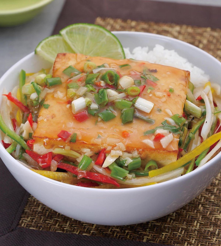 食譜:泰式煎豆腐蓋飯