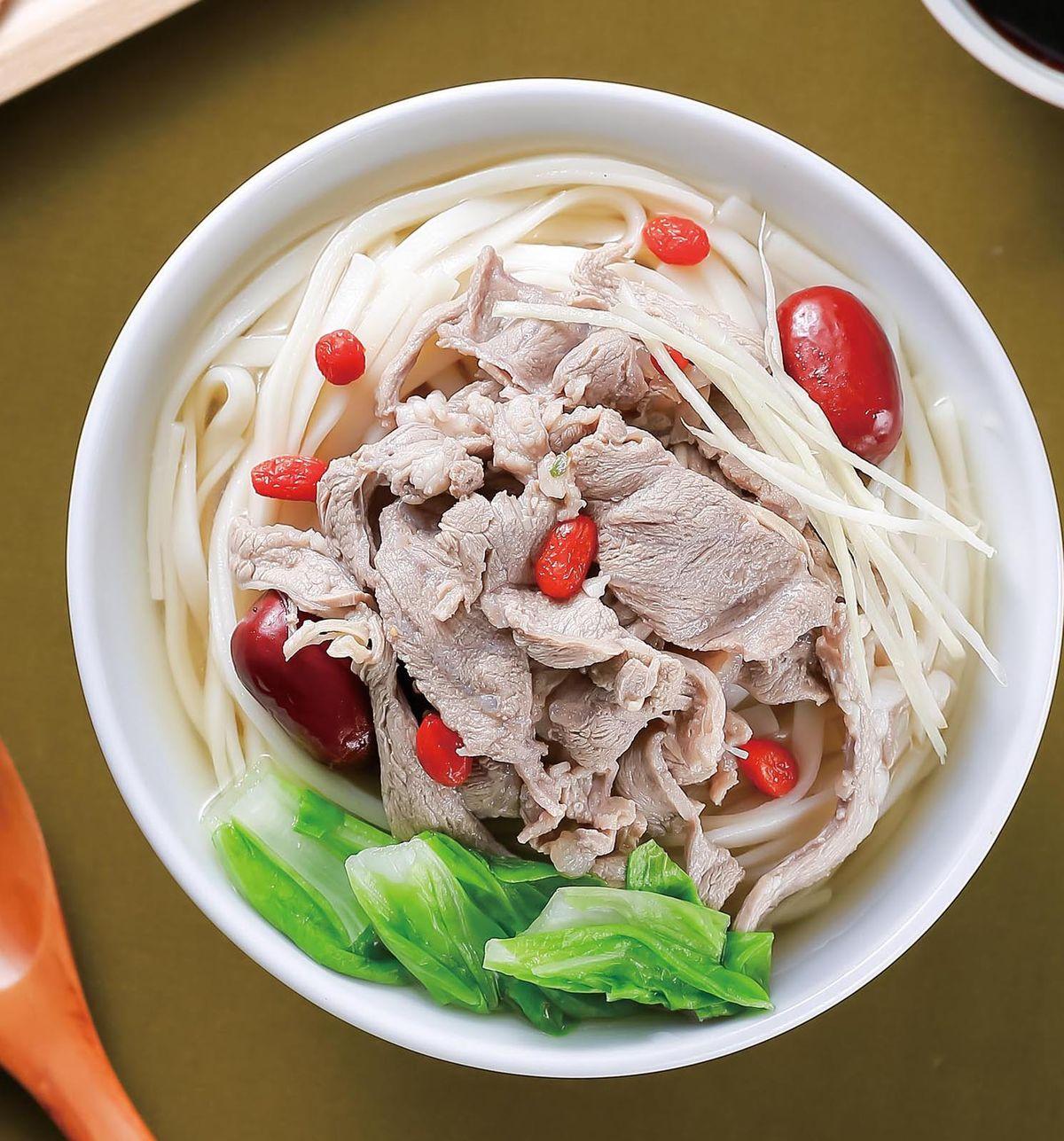 食譜:當歸羊肉片湯麵