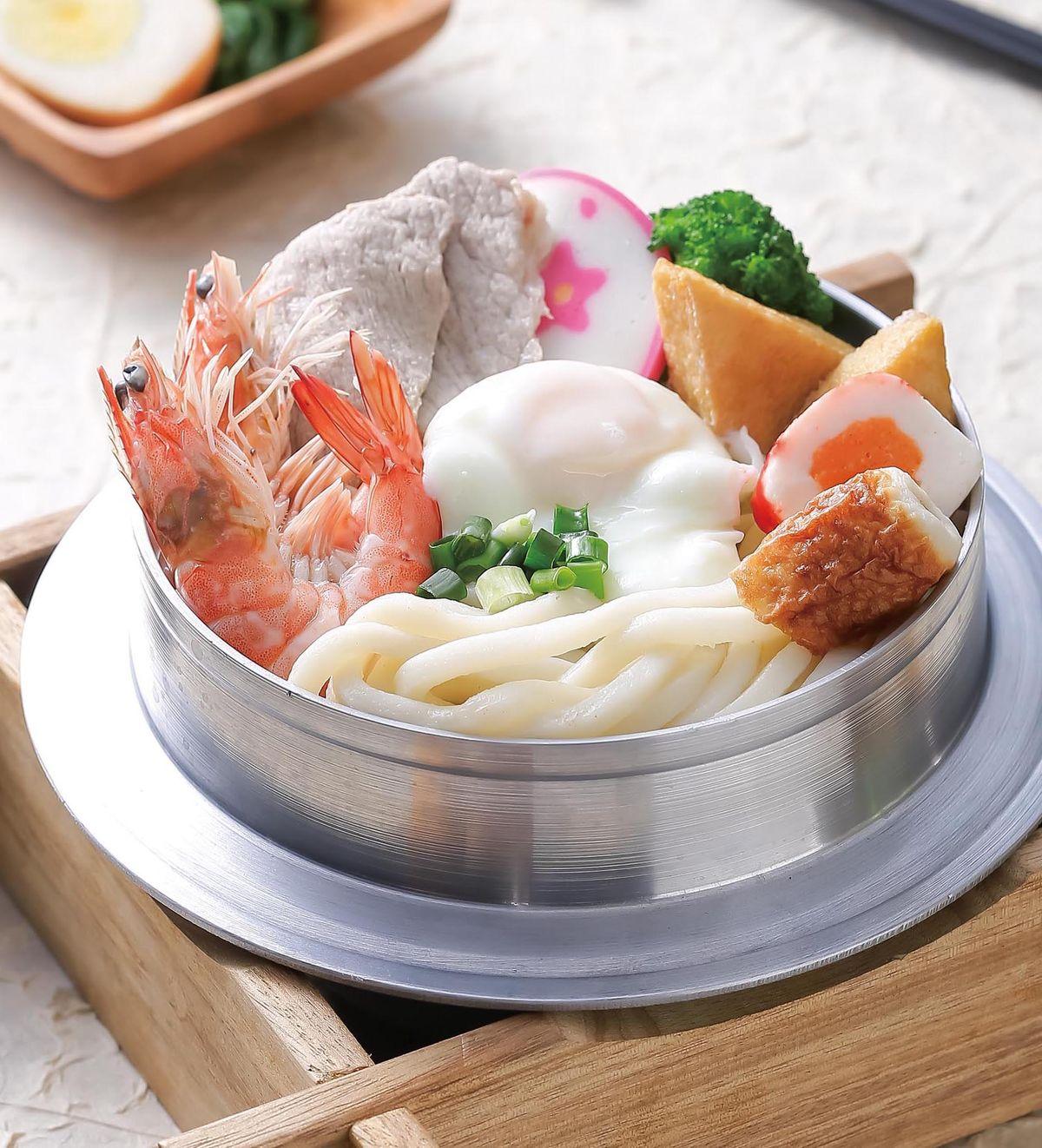 食譜:日式鍋燒麵