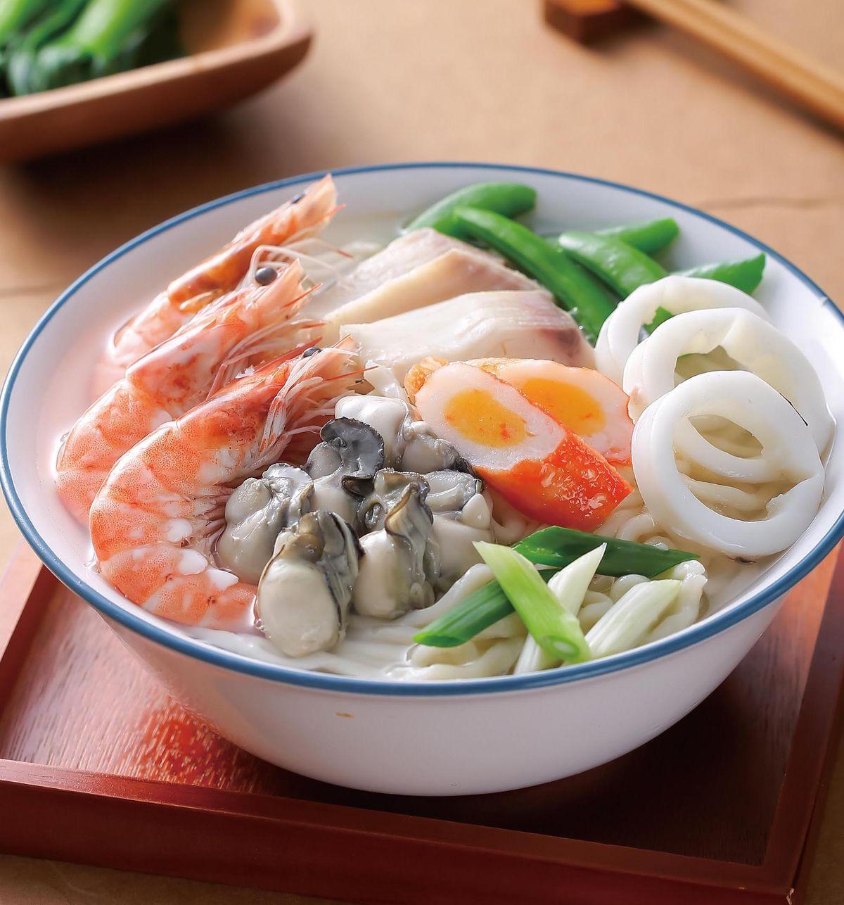 食譜:海鮮湯麵(3)