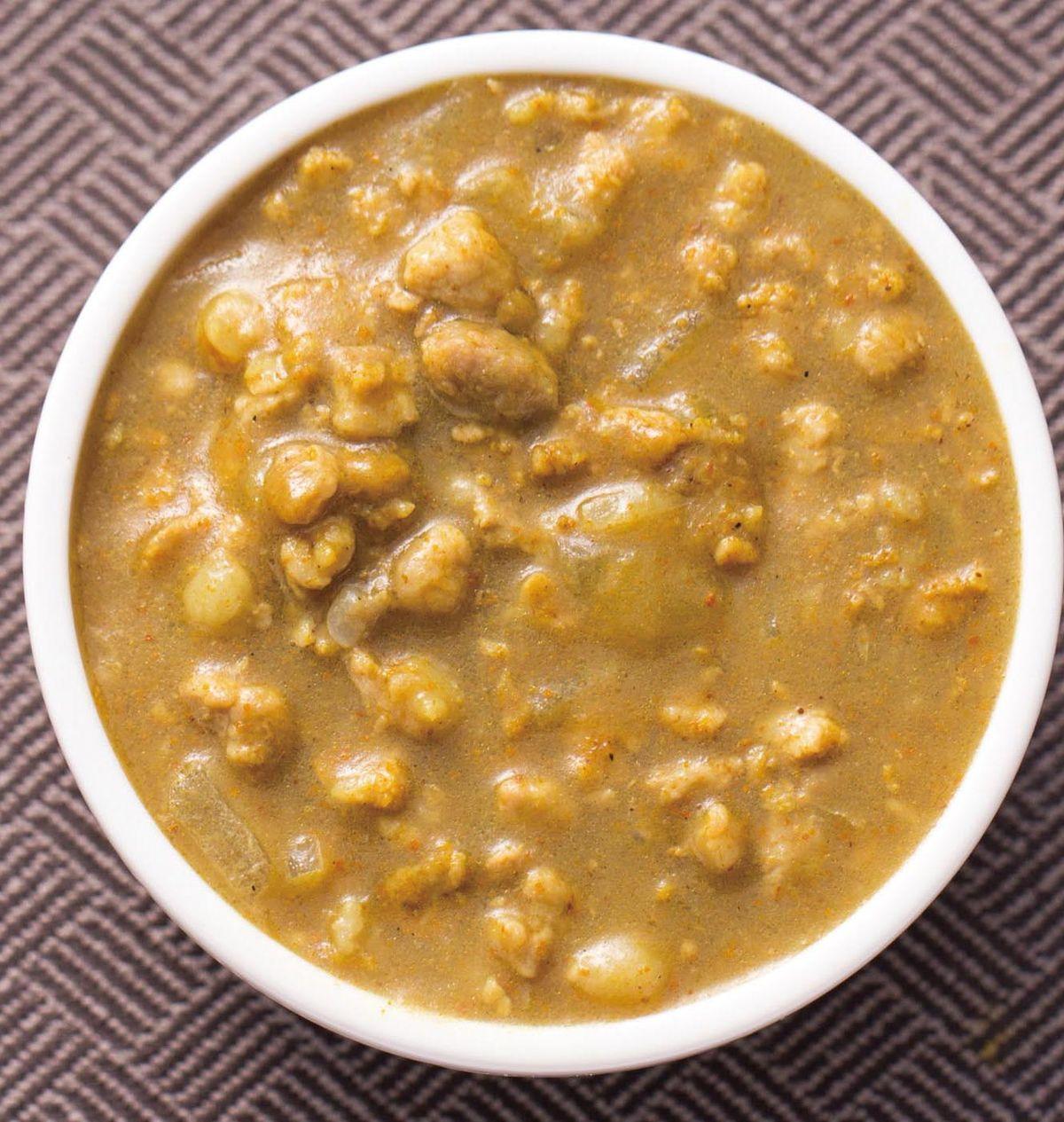 食譜:絞肉咖哩醬(1)