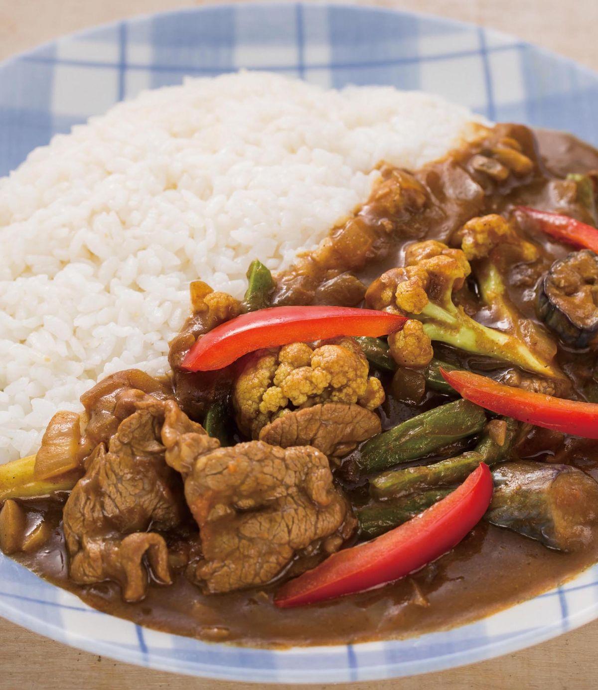 食譜:牛肉咖哩飯