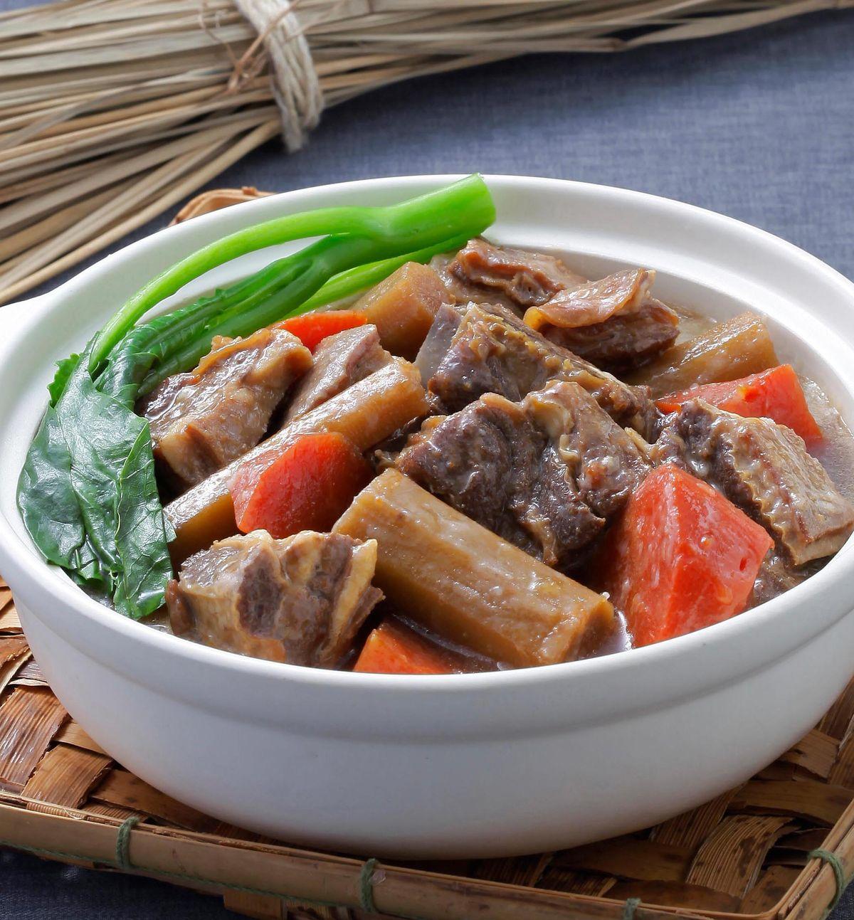食譜:牛蒡羊肉