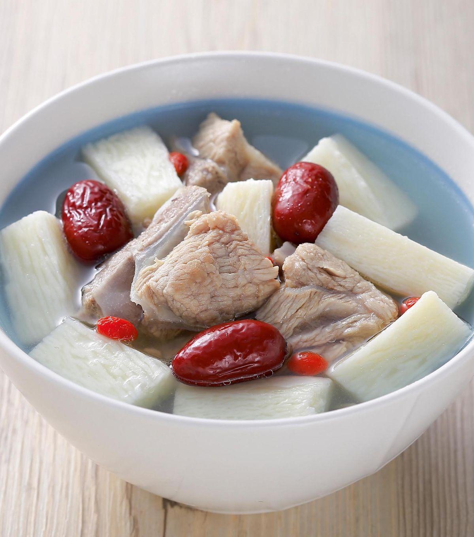 食譜:山藥排骨湯(4)