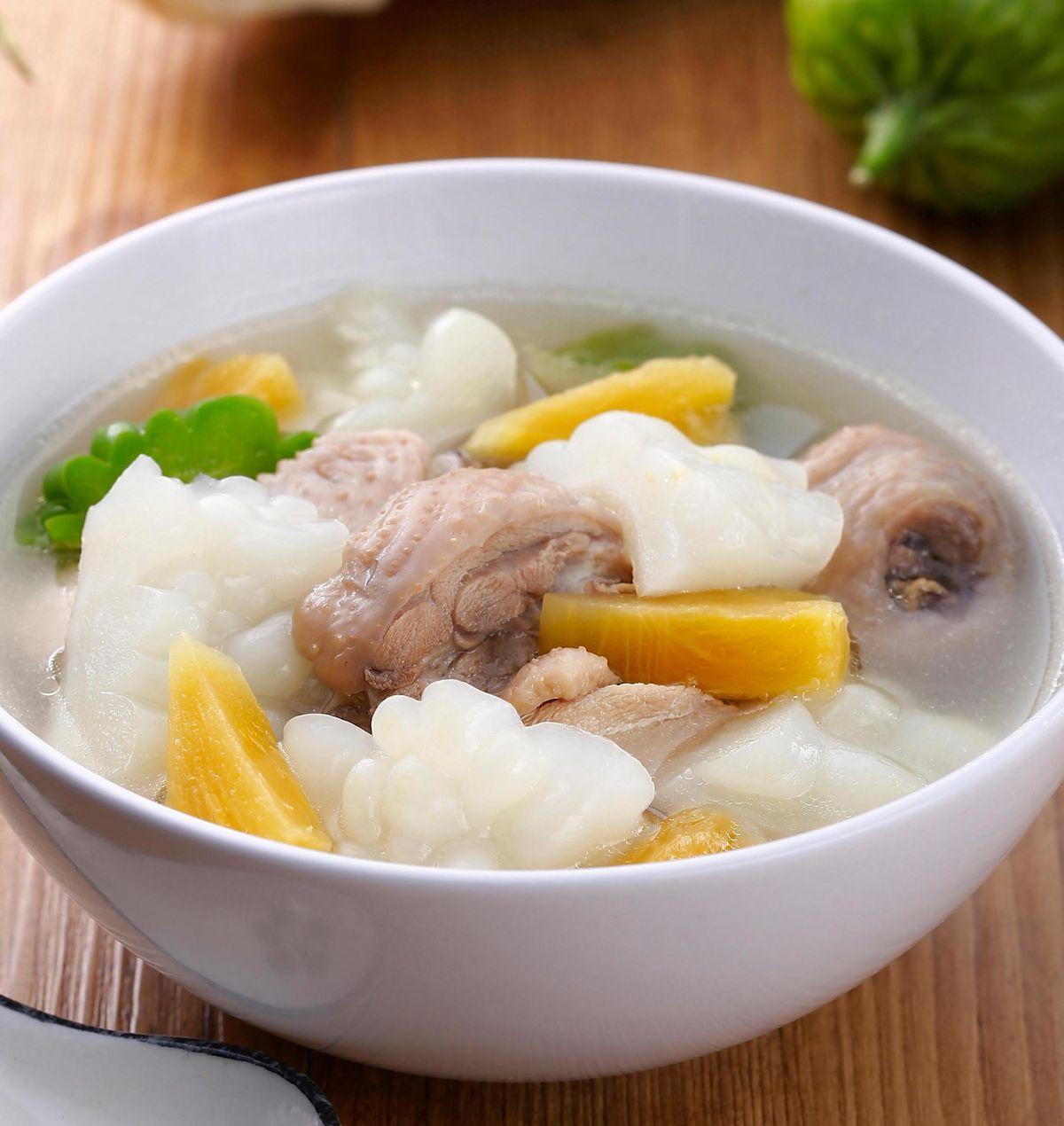 食譜:鳳梨苦瓜雞湯(3)