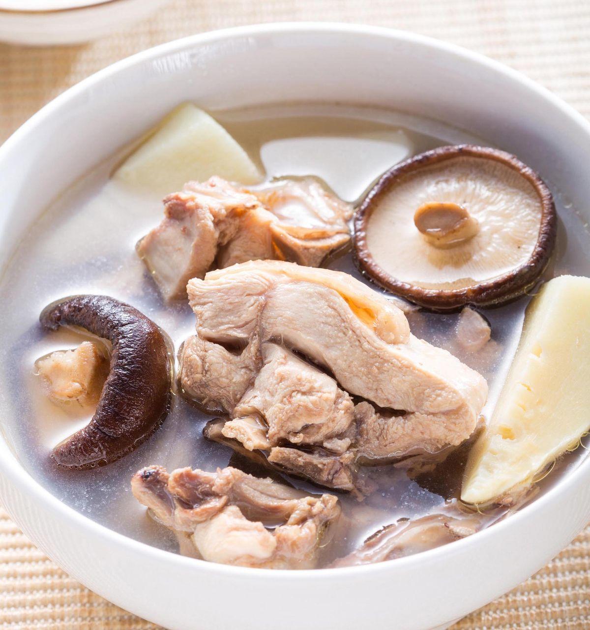食譜:香菇雞湯(7)