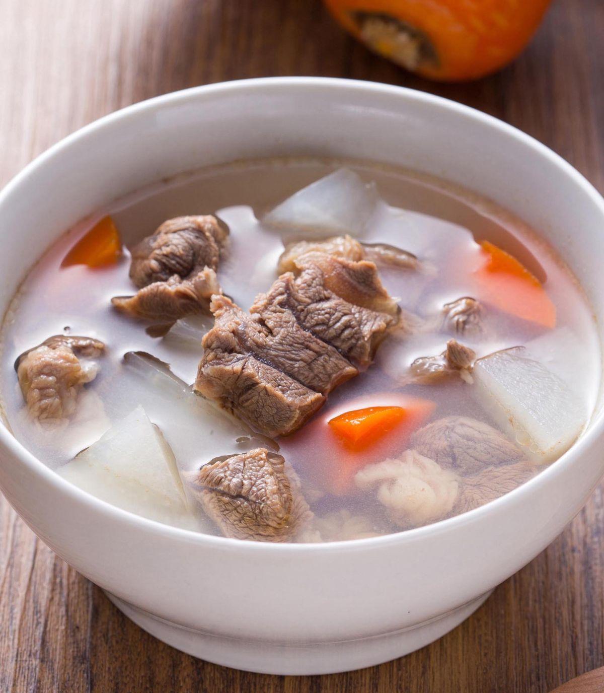食譜:清燉牛肉湯(3)