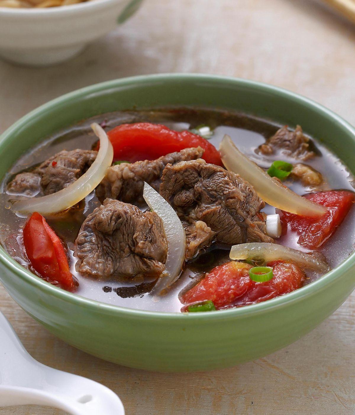 食譜:紅燒番茄牛肉湯