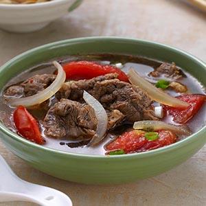 紅燒番茄牛肉湯