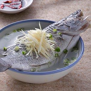 薑絲鮮魚湯(2)