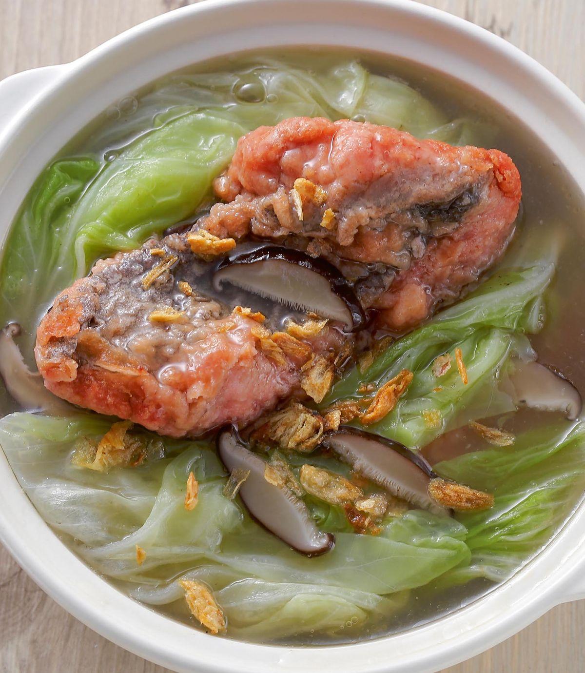 食譜:紅燒鰻魚湯(1)