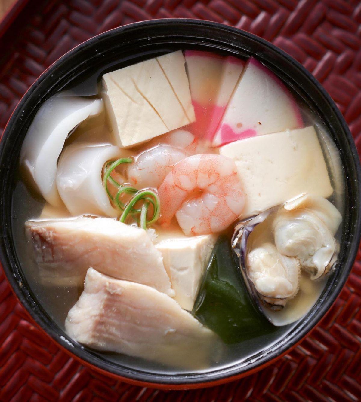 食譜:日式味噌海鮮湯