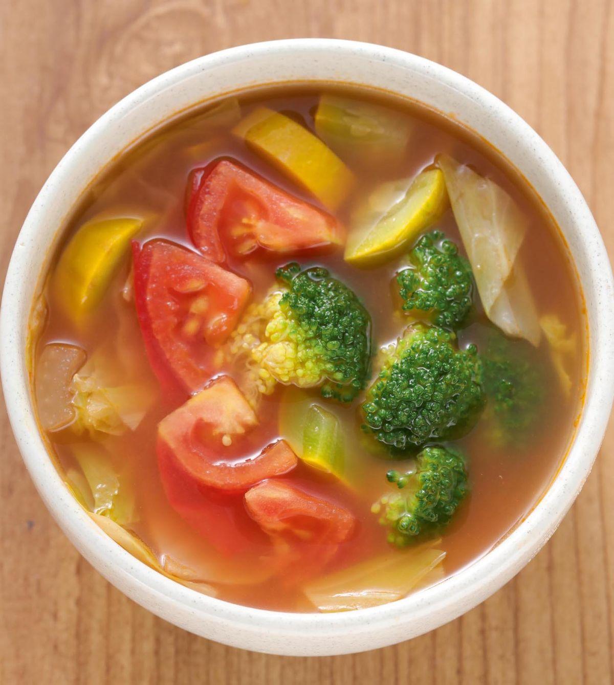 食譜:義式番茄蔬菜湯(1)