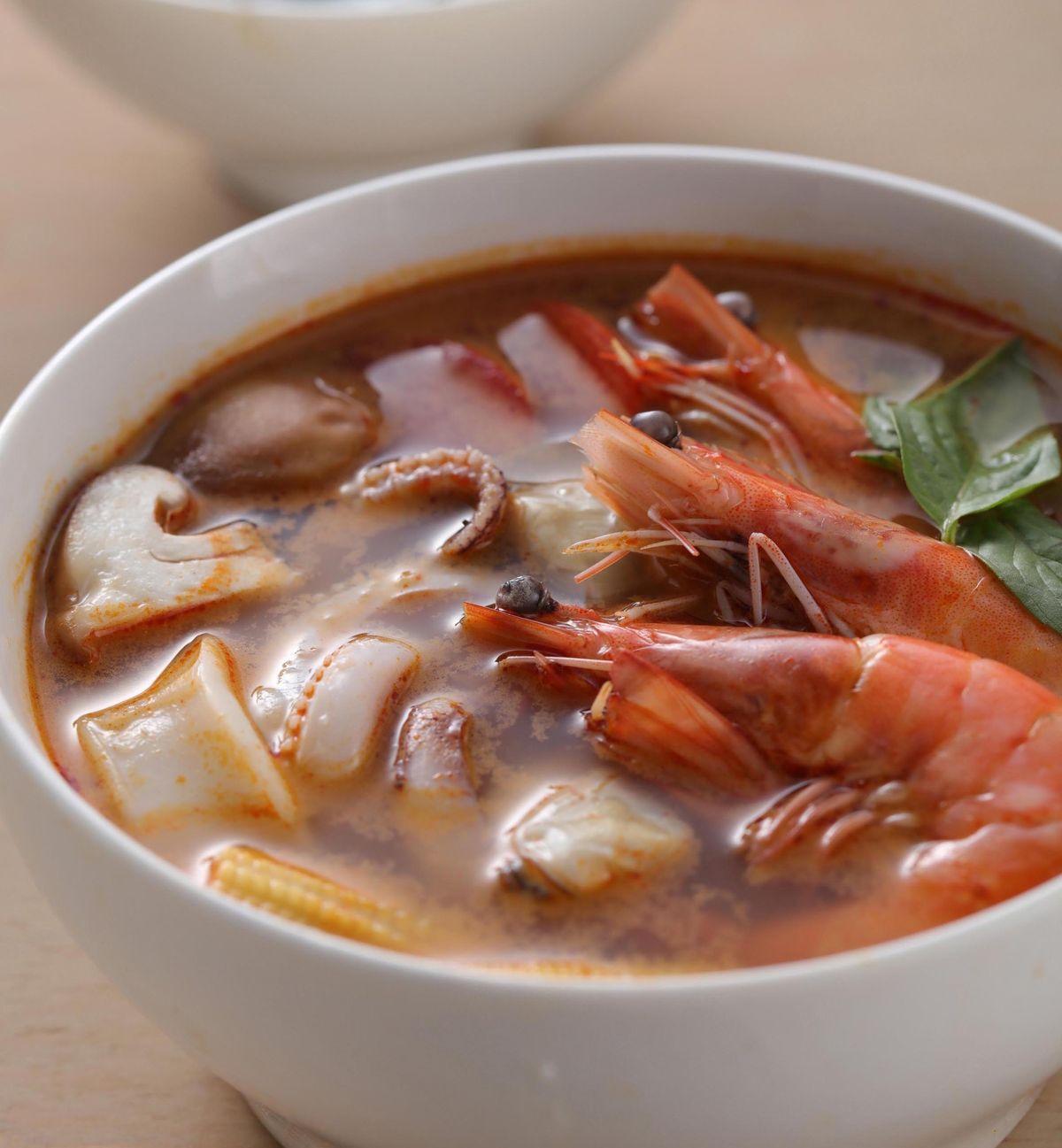 食譜:泰式酸辣湯(4)