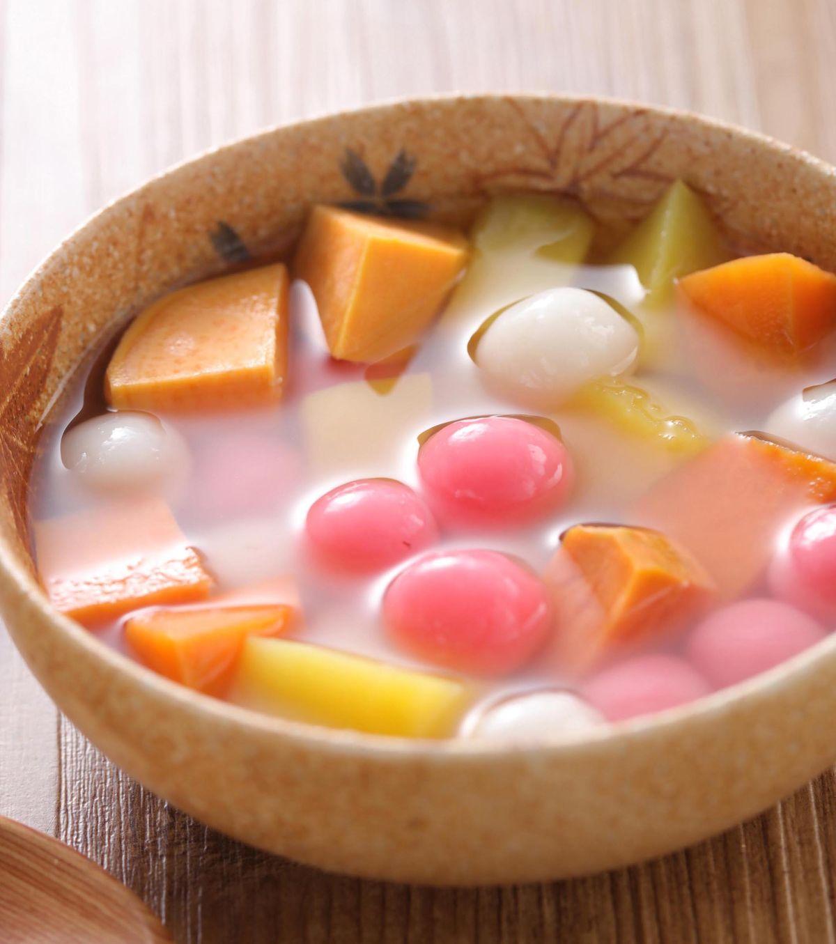 食譜:地瓜湯圓甜湯