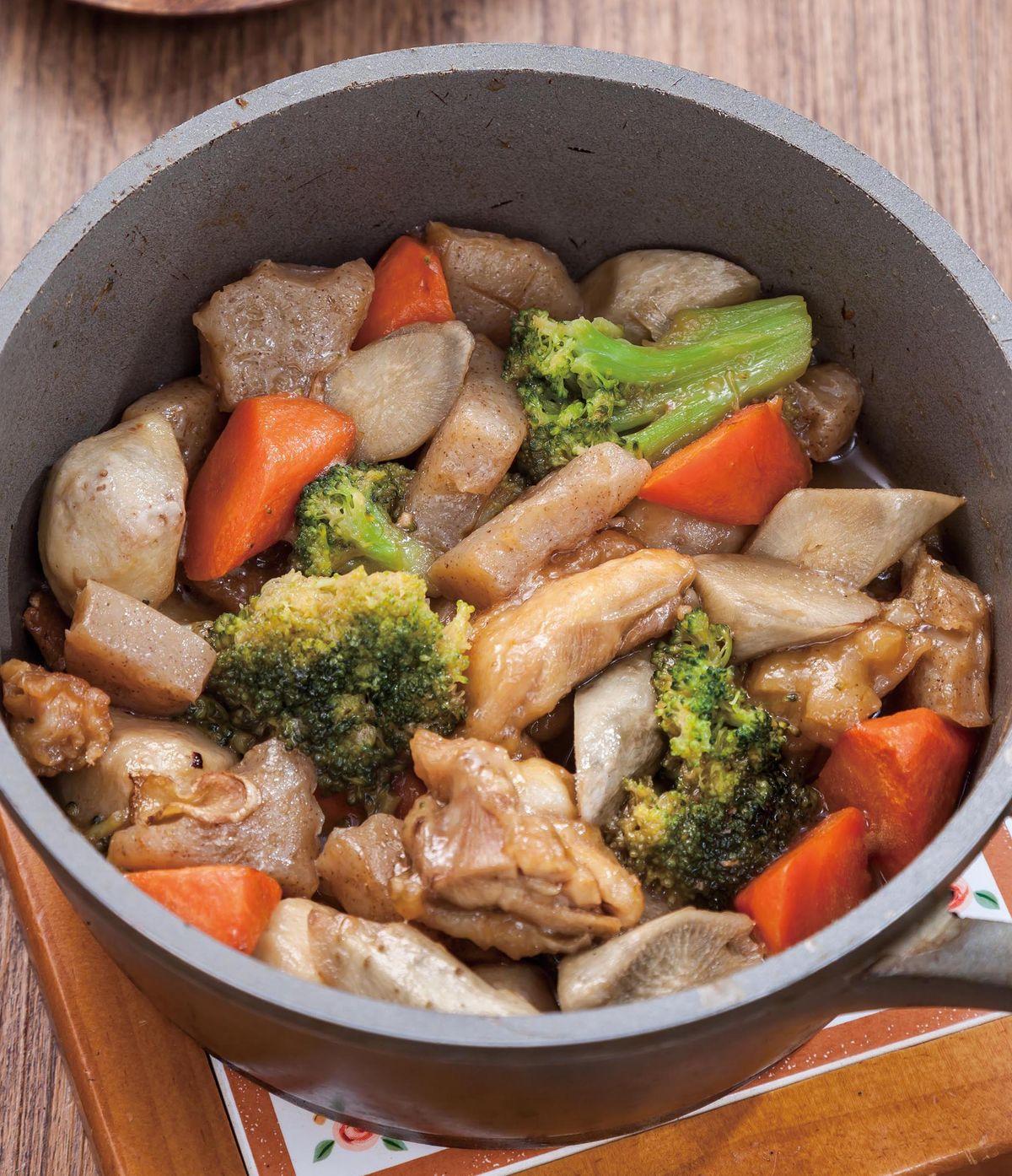 食譜:燉煮食蔬