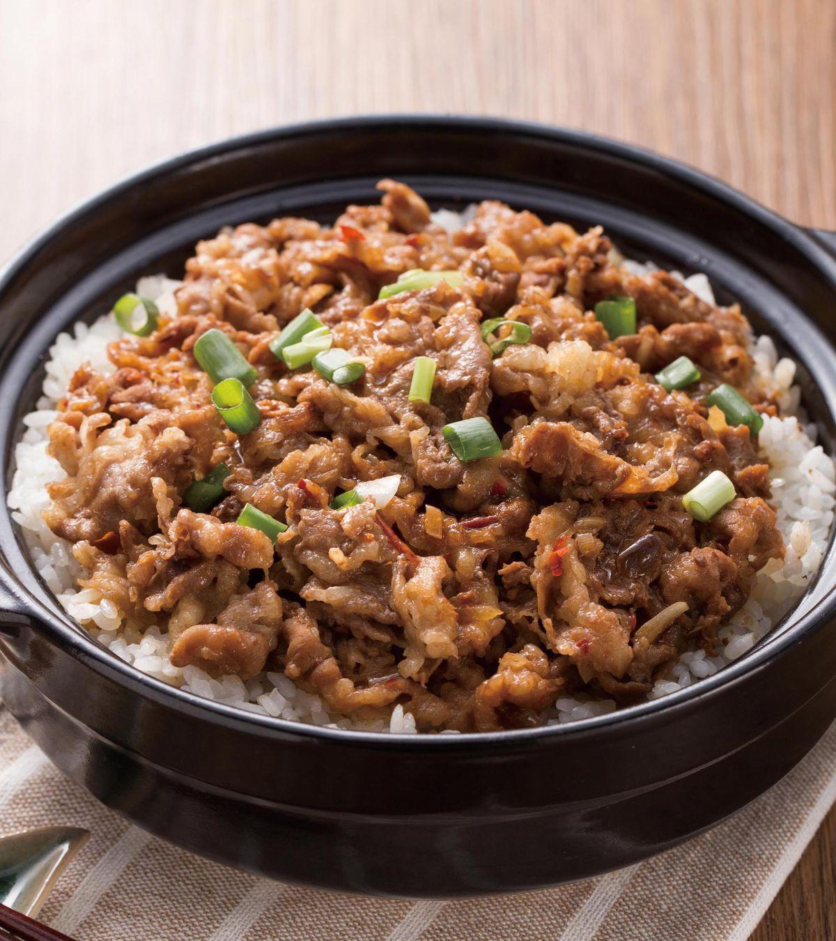 食譜:香辣肥牛煲飯