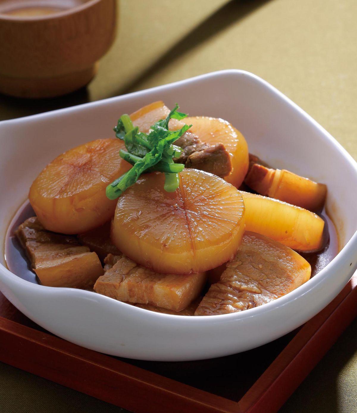 食譜:五花燒蘿蔔