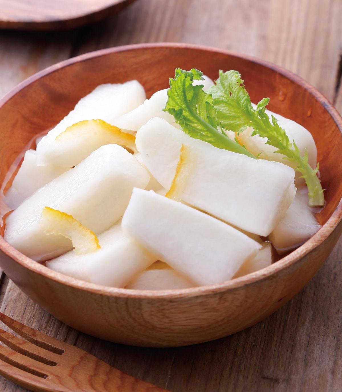 食譜:柚香漬白蘿蔔
