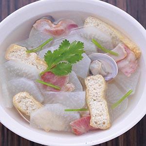 白蘿蔔煮蛤蜊