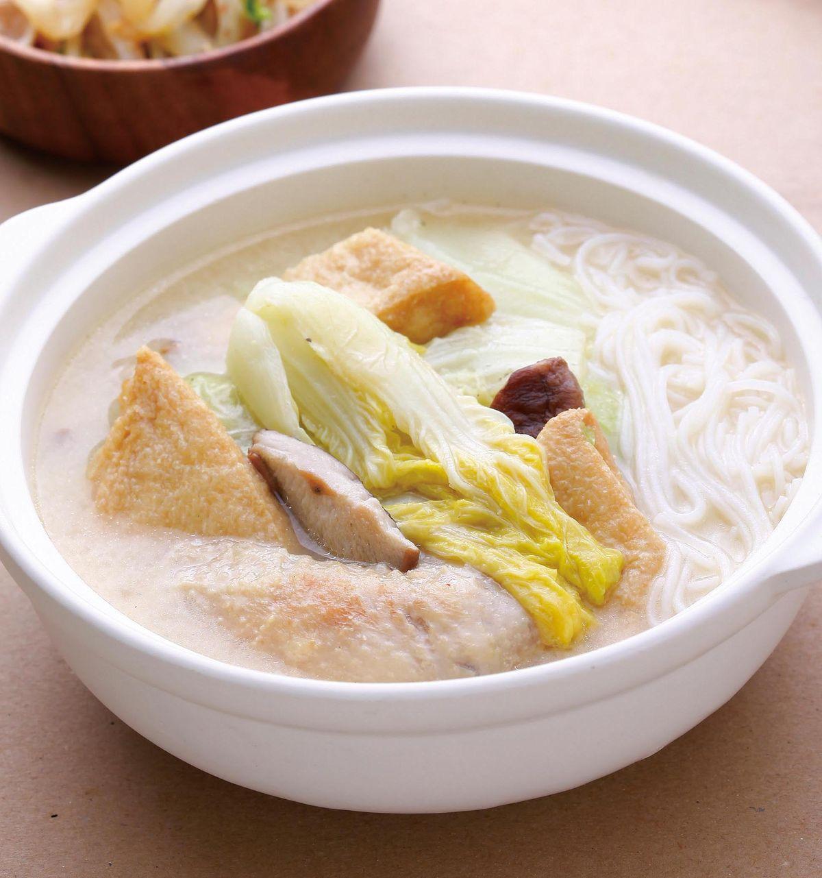 食譜:雞翅白菜鍋