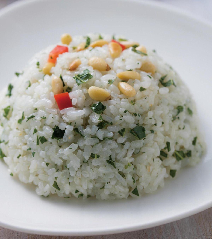 食譜:香椿松子炒飯