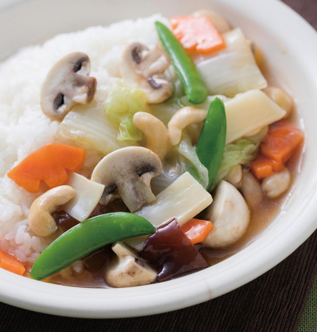 食譜:洋菇腰果燴飯