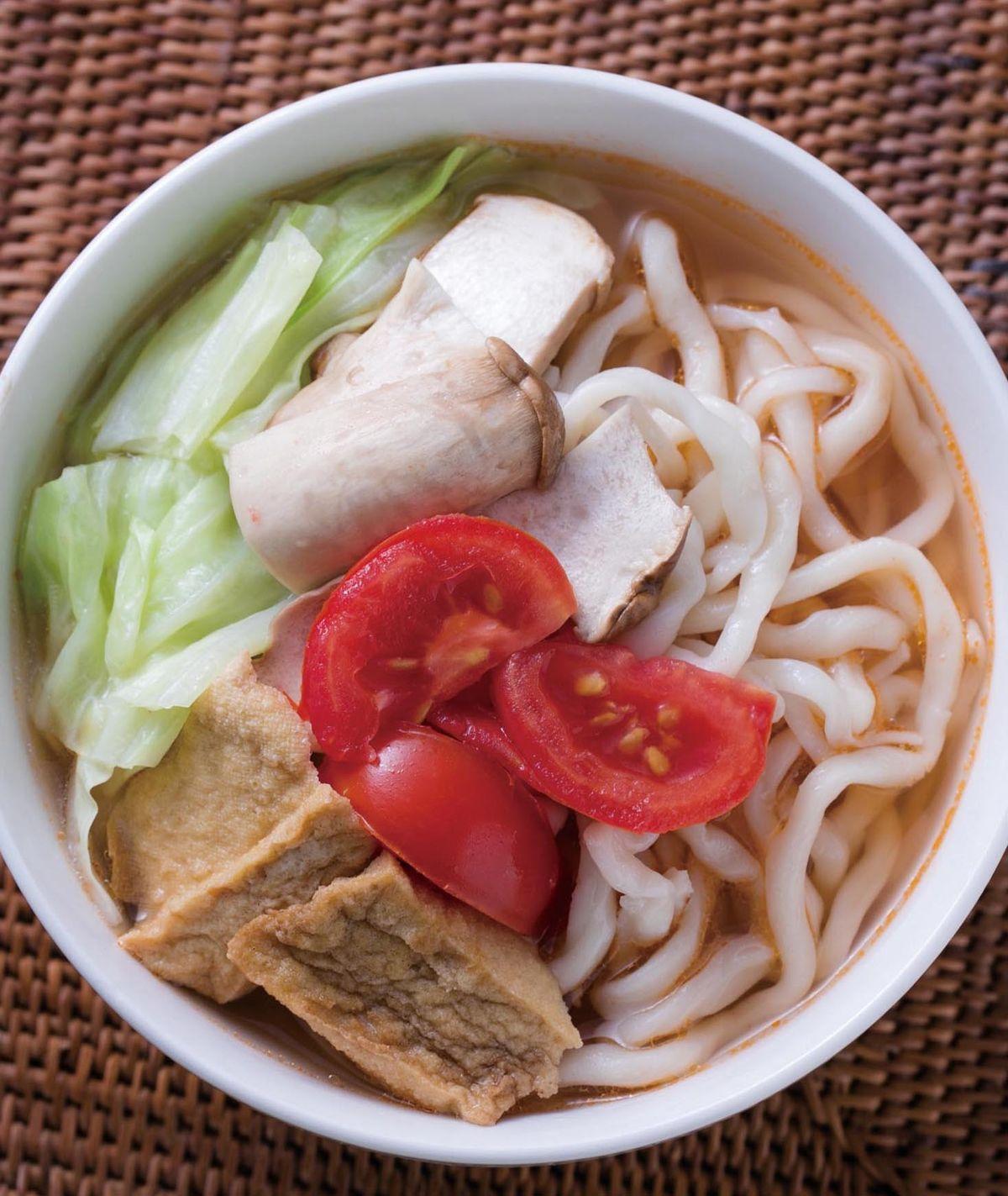 食譜:番茄湯麵