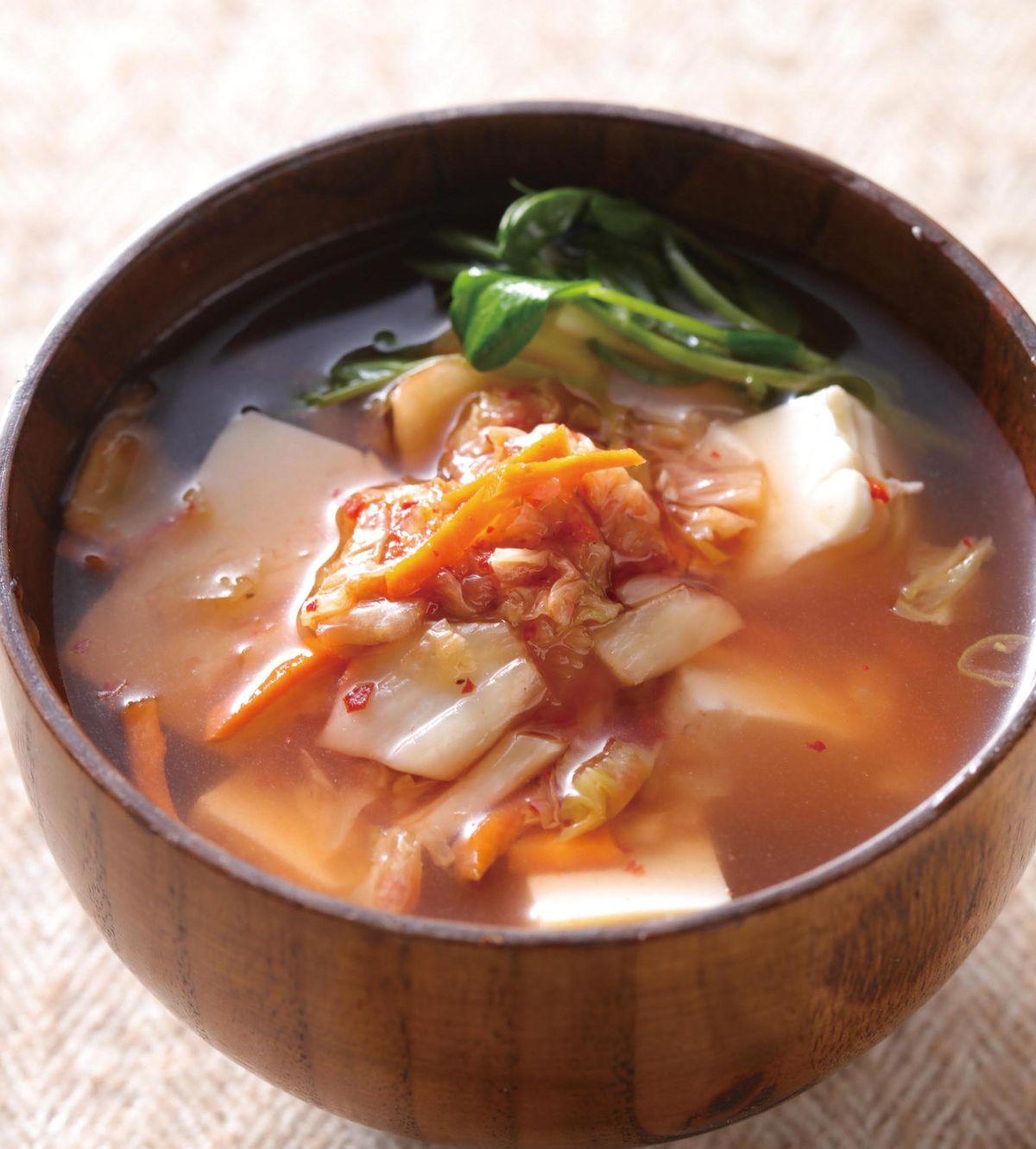 食譜:泡菜豆腐湯(1)