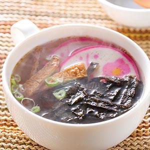 豆皮海苔湯