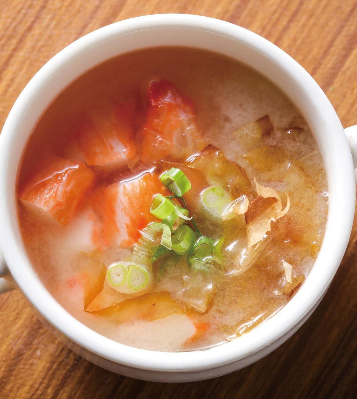 食譜:柴魚味噌湯