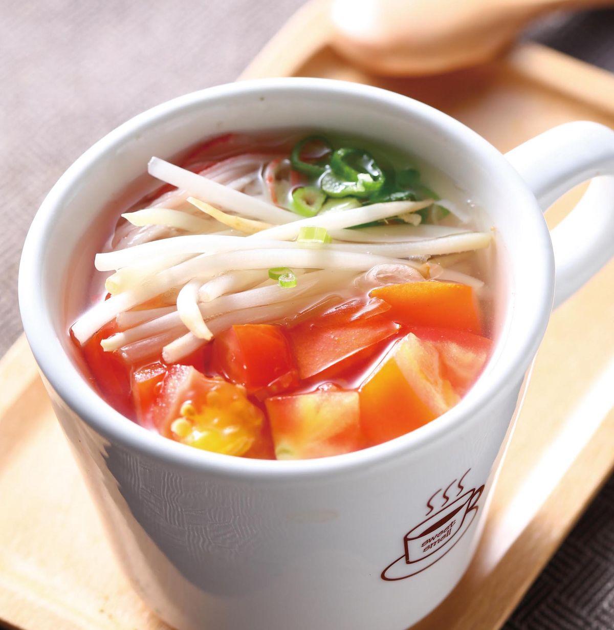 食譜:番茄銀芽湯