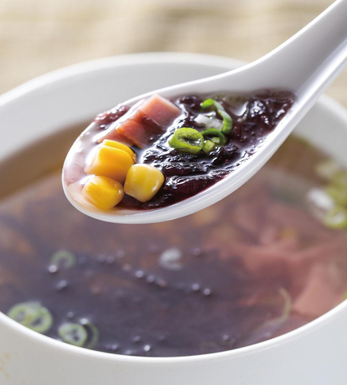 食譜:火腿玉米紫菜